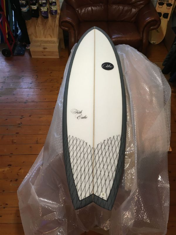 "ABC Fish Cake 6'6"" 5 fin Surfboard"